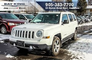2016 Jeep Patriot HIGH ALTITUDE, SUNROOF, HTD LEATHER, A/C, BLUE