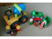 ELC Happyland vehicles