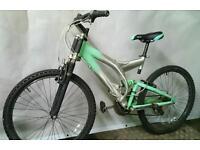 "Full Suspension Bike ADULT Size 18"" / 26"" Wheels"