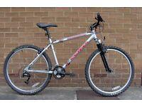 Kona Fire Mountain front suspension mountain bike, 18in aluminium frame, like new.