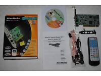 AverMedia Hybrid 007 TV PCI Card (New)