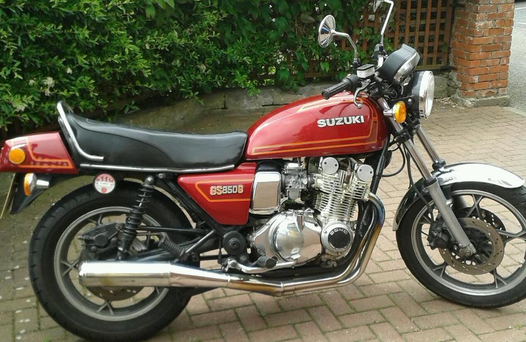 Suzuki Gs Parts