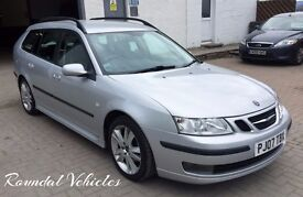 HIGH SPEC 2007 SAAB 9-3 (93) 1.9 Tid Vector Sport Anniversary est, Rare model 9 stamp hist, Mot Aug!