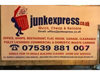 O7539 881007- HOUSE CLEARANCE, RUBBISH COLLECTION, GARDEN, GARAGE JUNK REMOVAL IN ENFIELD EN1,BARNET