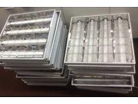 20x Recessed Fluorescent Shop/Office Ceiling Light Panels