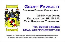 Plans for extensions, loft conversions, conservatories, commercial, change of use