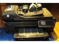 HP Officejet 7500A All in one printer. Error code when printing. For repair/parts.