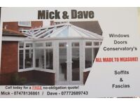 Local guys - windows, doors, conservatories. Made to measure!