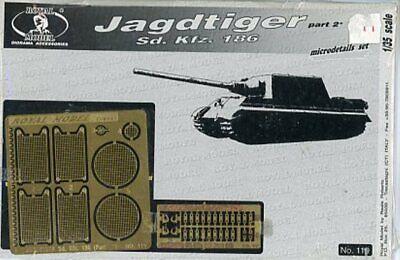 NEW!!! TAMIYA TORRO TRUMPETER TAIGEN 1//16 SD.KFZ.186 JAGDTIGER TANK DECALS