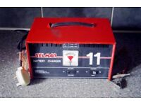 SELMAR 11 BATTERY CHARGER AND TRICKLE-6 AND 12V-STEEL CASE
