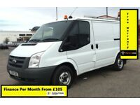 Ford Transit 2.2 300, 1 Owner -Direct Fr BT,105K Mies Only, Full Service History, 1YR MOT, Warranty