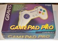 GRAVIS GAMEPAD PRO. New and sealed box. Vintage:) Uses PC gameport on soundcard