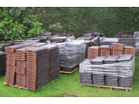Roof tiles (large format clay)