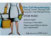 All aspects of domestic cleaning in Atherton, Tyldesley, Astley, Westhoughton, Over Hulton, Leigh