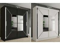 🎃🎃 SUMMER SALE 🎃🎃 NEW NICOLE SLIDING WARDROBES IN DIFFERENT SIZES AVAILABLE NOW IN STOCK