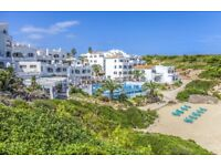 Accommodation at White Sands Beach Club, Menorca, Spain