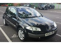 RENAULT MEGANE 1.6 VVT - 3DR - AUTOMATIC - ONLY 46000 VOSA GENUINE MILES - ANY TEST ACCEPTED