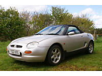 1.8 MGF convertible (years Mot)