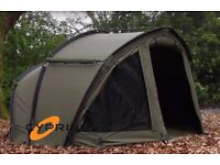 Cyprinus large 1 man bivvy Thor twin skin ex display shleter with all extras