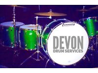 Drummer & Drum Tech Available - Devon Drum Services