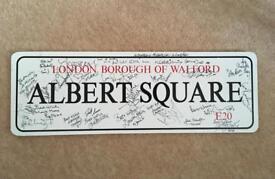 Eastenders Signed Sign