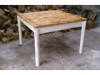 Lovely Large Rustic Coffee Table, farmhouse style
