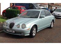 Beautiful ( classic ) Jaguar S type V6 ( automatic ) full years MOT