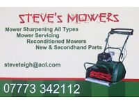LAWNMOWERS SHARPENED AND SERVICED most makes