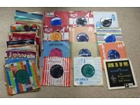 65 vinyls from 1960s all in good/very good condition - bonus few extra 1950s & 1970s free