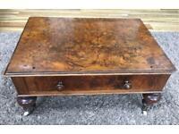 Antique Victorian Walnut Mini Side Table