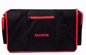 Aiwa Exos-9 Portable Bluetooth Speaker Bag - NEW