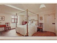 Genuine Victorian Four Poster Bed/ Make an offer