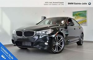 2016 BMW 335i xDrive GT + Premium + Executive + Cuir rouge!