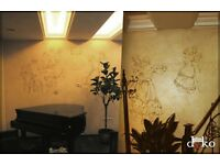 Plasterer, Marble, Venetian Polished Plaster, Decorative, Artistic Painting