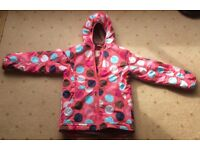 "Mini Boden ""Spots & Dots"" raincoat anorak jacket, aged from 10 years - Larne/Belfast, £10"