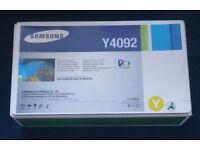 Samsung Yellow toner Y4092