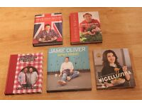 Five Excellent Quality Hard Back Cookery Books