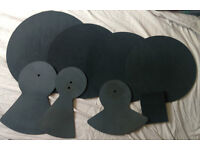 ROCKSOLID DRUM & CYMBAL SILENCE PADS