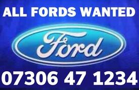 ‼️ WANTED SCRAP FORD CAR VAN FAST CASH ANYTHING DAMAGED NO MOT NON RUNNER FIESTA FOCUS MONDEO