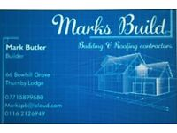 Mark's Build, Roofing and building services.