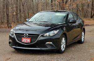 2014 Mazda Mazda3 GS-SKY | Bluetooth | ONLY 45K | CERTIFIED +...