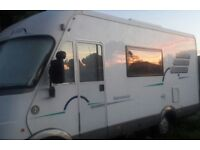 HYMER B564 A CLASS FIAT DUCATO 2.8 JTD RHD W REG (2000) IN EXCELLENT CONDITION. Many extras
