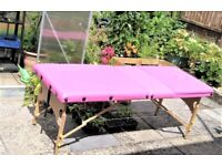 RESERVED FOR KATE - Portable Massage/Beauty Treatment Table
