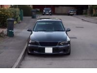 Black Lexus Is200 2000 One off show car Modified Custom Bodykit Exhaust Paintjob drift