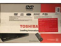 DVD Player (Toshiba) - Brand New