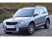 Skoda Yeti 2.0 diesel, 170BHP, 4x4, Laurin & Klement (22 months manufacturers warranty remaining !)