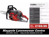 """New COBRA Chainsaw - 2 Year Warranty, Good Cheap Chainsaw 14"""", 16"""", 18"""" and 20"""""""