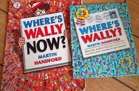 Where's Wally? Books x2