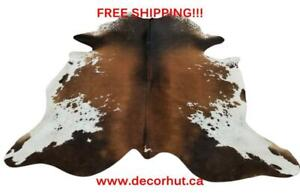 Cow Skin Rug Brazilian Cowhide Rugs Hair On Cow Hyde Natural And Real Free Shipping
