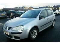 2007 Vw Golf 1.4 Fsi Petrol Service history Excellent drives cheap on insurance Bargain price